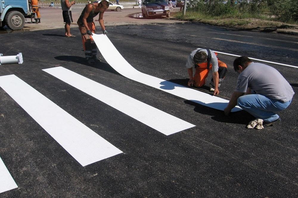 Как сделать дорожное покрытие